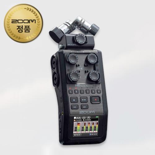 ZOOM H6/6채널 전문가용 녹음기(악기,공연,믹싱)
